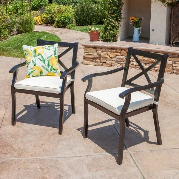 buy aluminum patio dining chairs online
