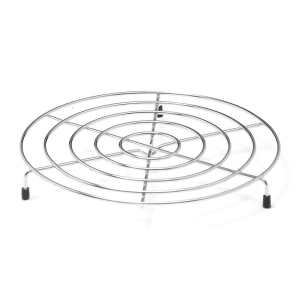 Shop YBM Home Chrome Plated Steel Footed Wire Plate Steam