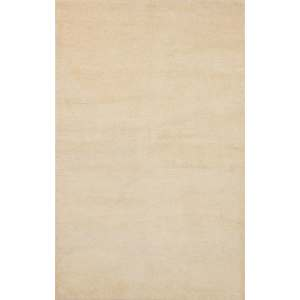 eCarpetGallery Eternity Ivory Wool Hand-knotted Area Rug - 5'0 x 8'0