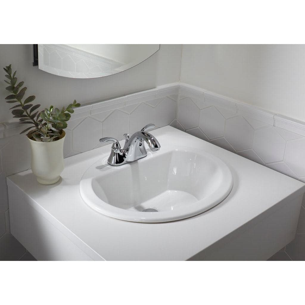 19 inch european style oval shape porcelain ceramic bathroom topmount over the counter sink