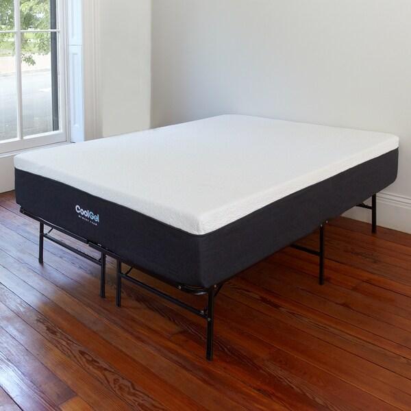 Postureloft Cool Gel Memory Foam 12 Inch King Size Mattress With Heavy Duty