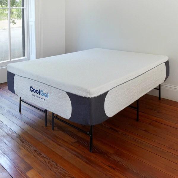 Postureloft Cool Gel Memory Foam 14 Inch King Size Mattress With Heavy Duty