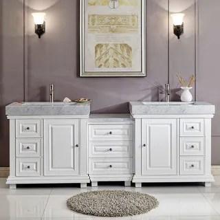 silkroad exclusive 48-inch contemporary bathroom vanity single