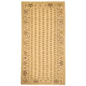 Arshs Fine Rugs Kafkaz Sun-faded Marinda Light Tan and Brown Wool Hand-knotted Oriental Area Rug - 10' x 14'