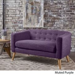 Fainting Sofa Purple Living Room Inspiration Brown Leather Buy Sofas Couches Online At Overstock Com Our Best Furniture Deals