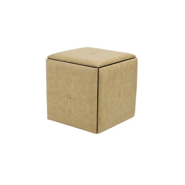 storage ottoman with 4 stools inside