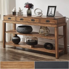 Sale Sofa Tables Fabric Suppliers In Mumbai Shop Lonny 3 Drawer Wood Console Table Tv Stand By Inspire Q Classic