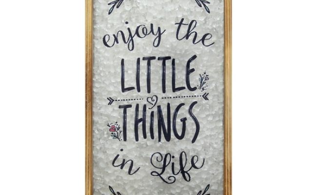 Shop Stratton Home Decor Enjoy The Little Things In Life