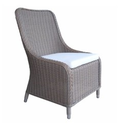 All Weather Wicker Outdoor Chairs Behind The Chair Com 2 Shop Padma S Plantation Nautilus Dining Free Shipping Today Overstock 16849582