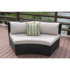 Half Moon Shaped Sofa Sofascore Roma Vs Lazio Belham Living San Miguel Cast Aluminum