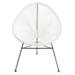 Metal Papasan Chair Mid Century Modern Directors Shop Acapulco White Free Shipping Today Overstock Com 16979565