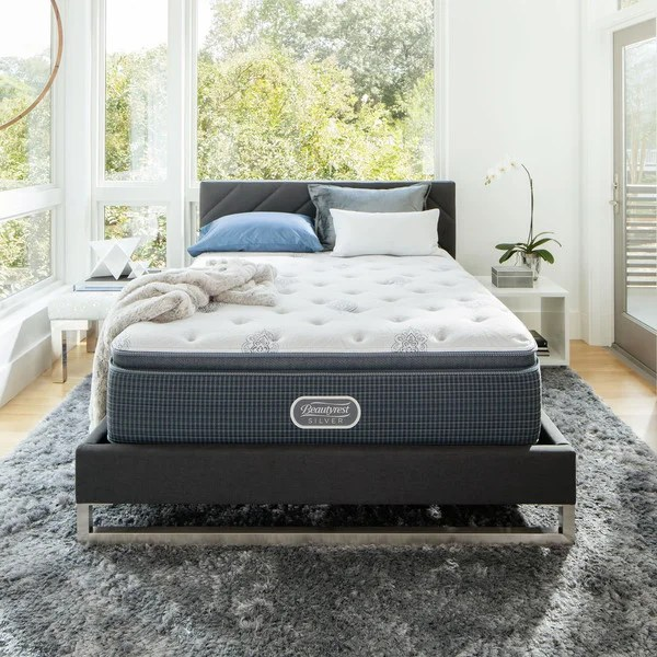 Beautyrest Silver Maddyn Pillow Top 14 Inch California King Size Luxury Firm Mattress Free Shipping Today 23284535