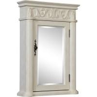 """Shop Roman 21"""" Antique White Medicine Cabinet - Antique ..."""