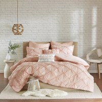 Urban Habitat Callie Pink Embroidered 7-piece Comforter ...