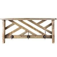 3 Hook Coat Rack Shelf - Tradingbasis