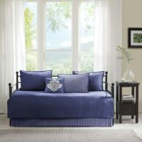 Stone Cottage Fresno Blue 5-piece Quilted Daybed Cover Set ...