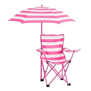toddler beach chair with umbrella ikea black folding chairs green kids for less overstock rugby stripe