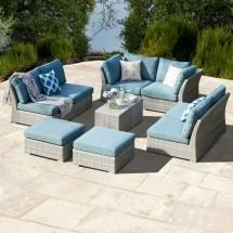 Grey Wicker Sofa Gray Outdoor Sofas Lounge Furniture