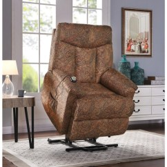 Lift Recliner Chairs For Sale Darvis Leather Club Chair Brown Christopher Knight Home Shop Prolounger Paisley Wall Hugger Power On
