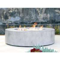 Shop Living Source International Santiago Cast Concrete 42 ...