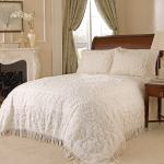 Medallion Chenille Bedspread King Overstock 17404550