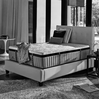 Kingsdown Crown Imperial Crest 15 Inch Queen Luxury Hybrid Mattress Set With Split Bo