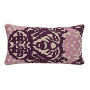 Kosas Home Rena Purple Cotton 14 x 26 Throw Pillow