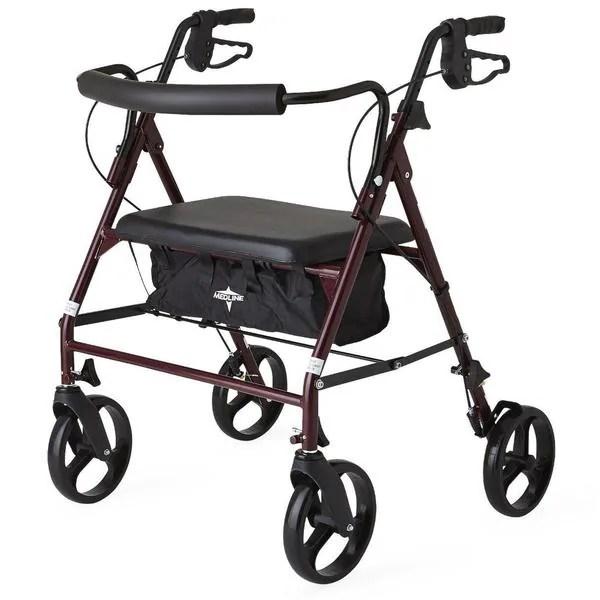 bariatric transport chair 500 lbs recliner protectors australia shop medline standard heavy duty lb weight capacity rollator walker