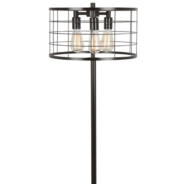 Shop Indy Wire Floor Lamp with Antique Finished Metal