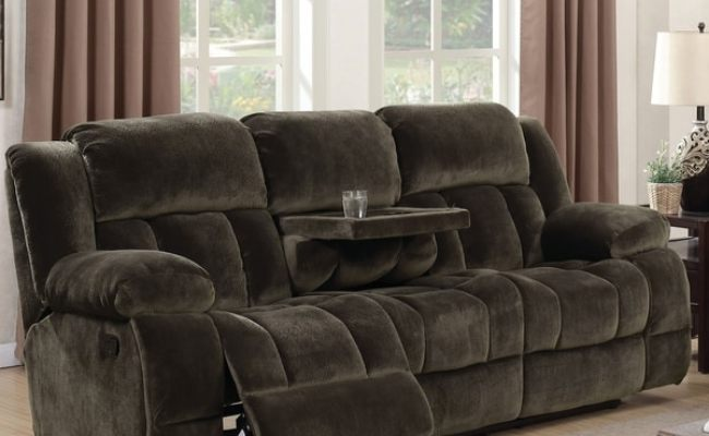 Shop Furniture Of America Ric Transitional Brown Fabric