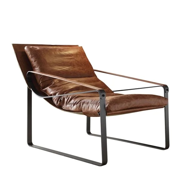 leather accent chairs dining room hong kong shop acme furniture quoba top grain chair cocoa free shipping today overstock com 17668747