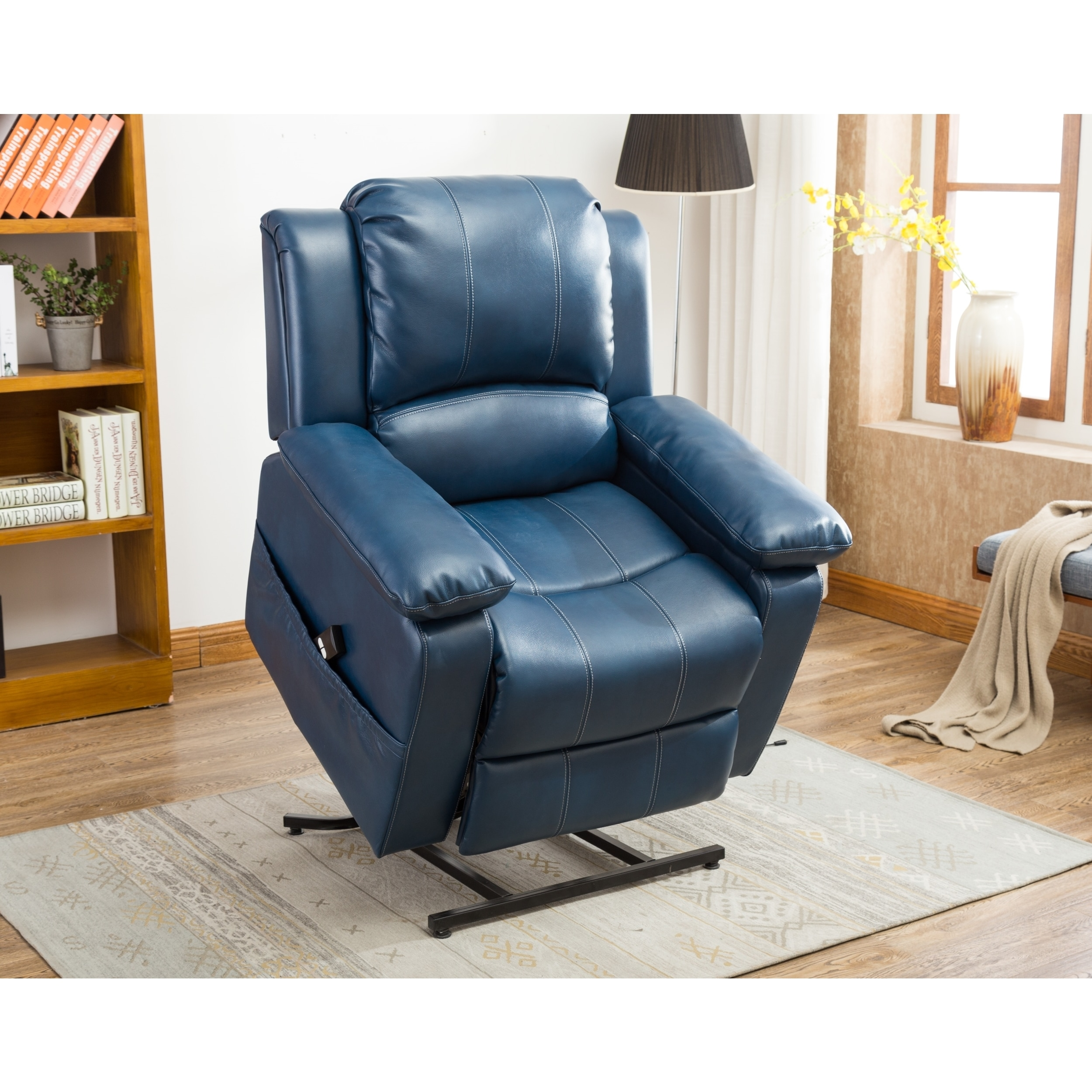 Blue Recliner Chairs  Rocking Recliners For Less