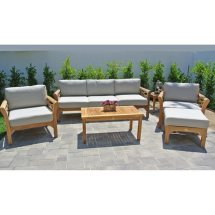 6 pc monterey teak outdoor