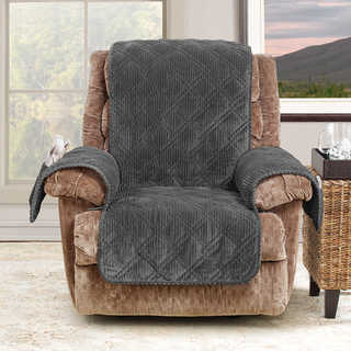 leather chair covers to buy table and for sale sure fit recliner wing slipcovers online at overstock com our best furniture deals