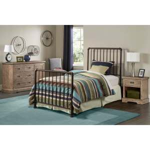 Brandi Bed Set - Twin - Bed Frame Included