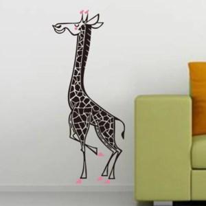 Cute Giraffe Removable Art Wall Stickers Mural Home Bedroom Decal Vinyl Decor Wall Vinyl