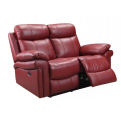 Futura Leather And Vinyl Power Reclining Sofa With Headrest In Stone Good Quality Sofas Melbourne Recliner Furniture For Less Overstock Com Hudson Top Grain Loveseat Brown Blue Red 2