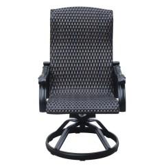 Outdoor Swivel Rocker Chair Easy Comfort Lc 200 Lift Shop Emerald Home Versailles Onyx Wicker Dining Set Of 2
