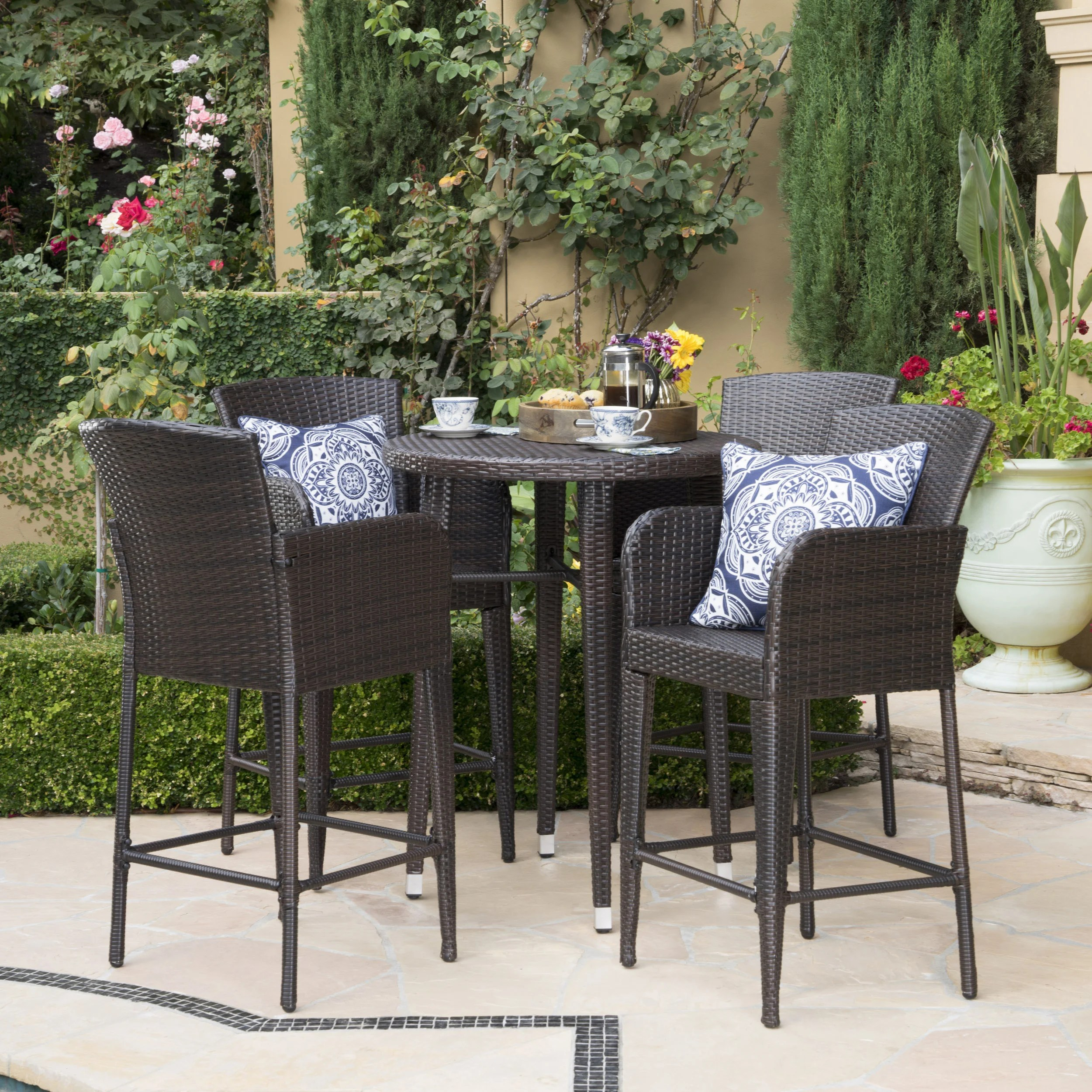 Patio Furniture Table And Chairs Buy Round Outdoor Dining Sets Online At Overstock Our Best Patio