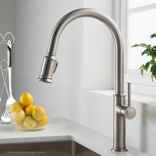 kitchen faucets cheap wallpaper for walls buy bronze finish online at overstock com our best kraus kpf 1680 sellette 1 handle 2 function sprayhead pull down faucet