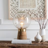 Recycled Glass Table Lamp - Frasesdeconquista.com