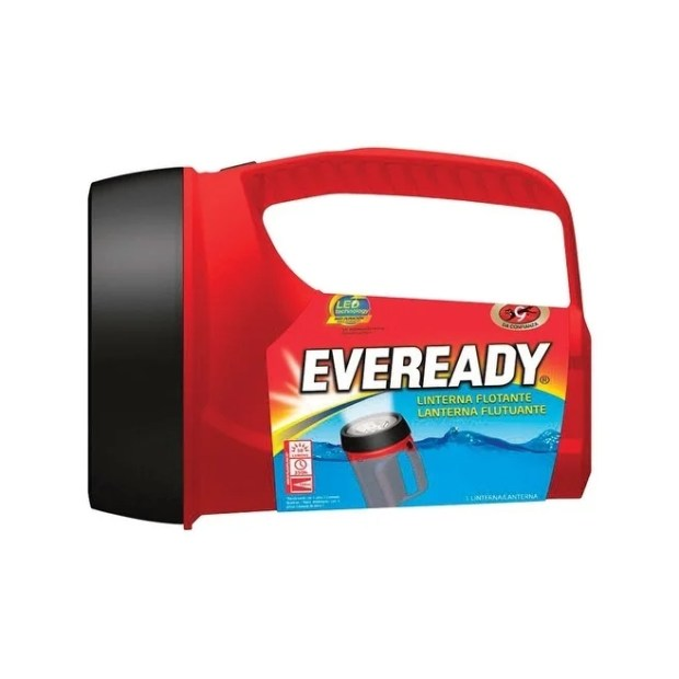 Energizer  Eveready  50 lumens Floating Lantern  LED  D  Red