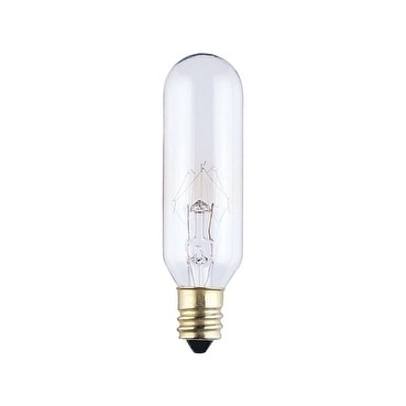 Westinghouse  Incandescent Light Bulb  15 watts 100 lumens 2700 K Tubular  T6  Candelabra Base (E12)
