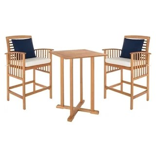 3 piece outdoor table and chairs round dining patio furniture find great seating deals shopping safavieh living pate white bar bistro set 39 8 inches