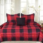 Sweet Home Collection 4 Piece Buffalo Check Comforter Set Assorted Colors On Sale Overstock 18144863