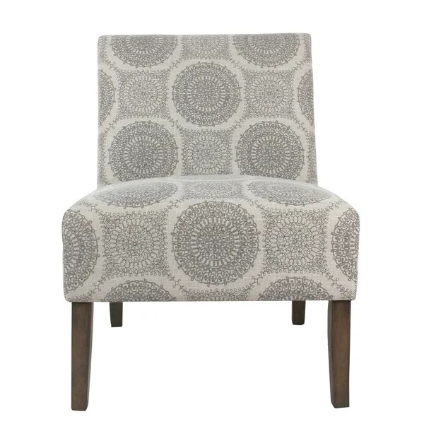 accent chair gray ergonomic cyber monday shop porch den clayton grey medallion armless free amp