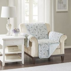 Club Chair Covers Upholstered Slope Arm Dining Buy Paisley Slipcovers Online At Overstock Com Our Madison Park Vanessa Blue Quilted Reversible Cotton Printed Protector