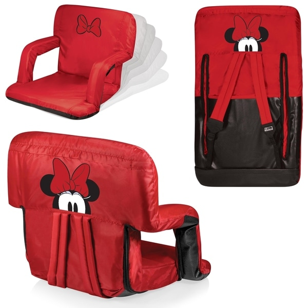 minnie mouse recliner chair ikea floor shop ventura portable reclining stadium seat on sale free shipping today overstock com 18157866