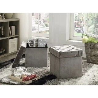 living room furniture with storage simple ceiling designs for 2016 buy cube online at overstock com our best foldable ottoman stool 2 piece set