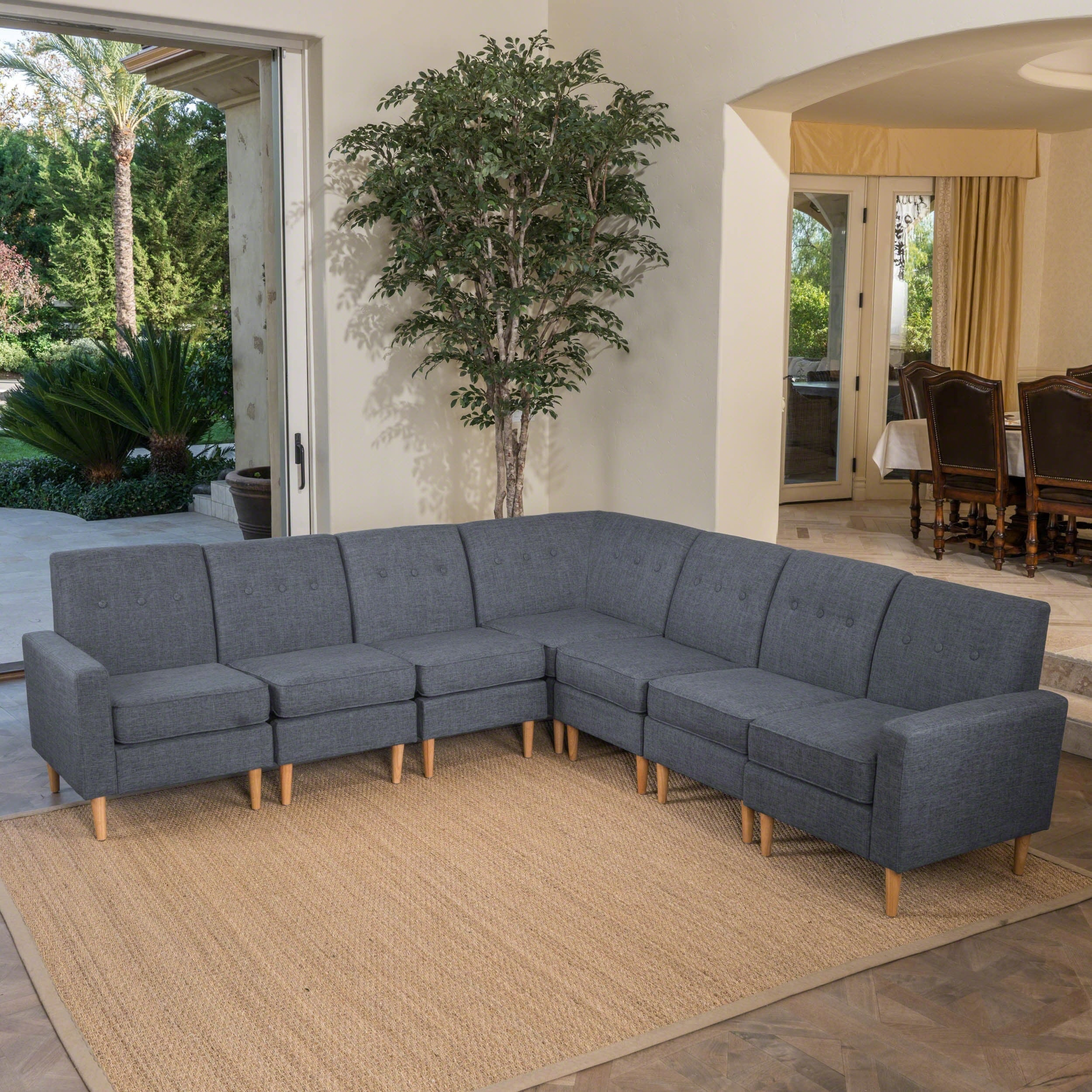 hayden sectional sofa costco the most comfortable 7 piece marks and cohen 8 ...